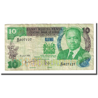Billet, Kenya, 10 Shillings, 1985-07-01, KM:20d, TB - Kenya