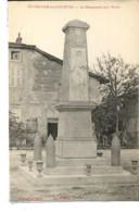 Dpt 01 St-Trivier De Courtes Le Monument Aux Morts Ed Griveaux 1920 Neuve EXT - Francia