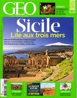 GEO N° 437 - Sicile - Port Gratuit - Géographie
