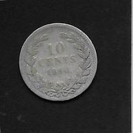 Pays Bas - 10 Cent - 1880 - Argent - [ 3] 1815-… : Kingdom Of The Netherlands