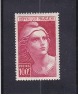 MARIANE DE GANDON N° 73 - 100frs Carmin- à Voir - Neufs