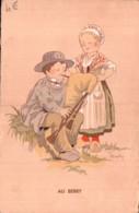 AU BERRY ILLUSTRATION RENAUDIN CIRCULEE SOUS ENVELOPPE 1938 - Autres Illustrateurs