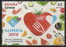 2019-ED. 5289 COMPLETA -Almería 2019, Capital Española Gastronomía - NUEVO - 1931-Hoy: 2ª República - ... Juan Carlos I