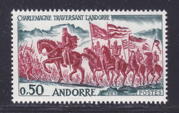 ANDORRE N°  167 ** MNH Neuf Sans Charnière, TB (D8284) Charlemagne Traversant L'Andorre - 1963-64 - Nuevos