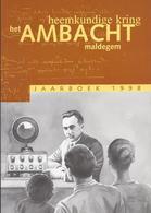 HEEMKUNDIGE KRING HET AMBACHT MALDEGEM JAARBOEK 1998 -  EERSTE WERELDOORLOG DONK ADEGEM MIDDELBURG - Histoire