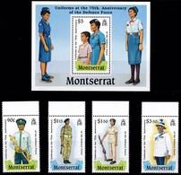 MONTSERRAT 1989 UNIFORMI - Montserrat