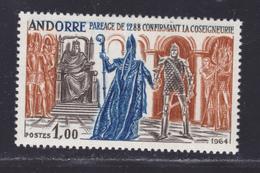 ANDORRE N°  170 ** MNH Neuf Sans Charnière, TB (D8286) Paréage Confirmant La Co-seigneurie - 1963-64 - Andorre Français