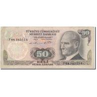 Billet, Turquie, 50 Lira, 1970, KM:188, TB+ - Turquie