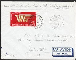 VIET-NAM Lettre De SAIGON 31 OCT 1952  Via PARIS - Viêt-Nam
