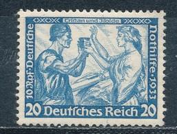 Deutsches Reich 505 B Neugummi Signiert Schlegel - Germania