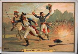 Chromo & Image - N° 49 Masséna à La Bataille De LODI ( 10 Mai 1796 ) - En TB. état - History