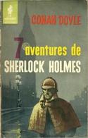 7 AVENTURES DE SHERLOCK HOLMES - CONAN DOYLE / COLLECTION MARABOUT  N° 237 - 1959 - Livres, BD, Revues