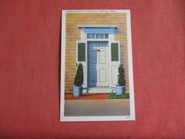 Colonia Doorway  Traders Lane  Massachusetts > Nantucket    Ref 3141 - Nantucket