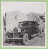ROMPON (07) Sept 1940 : Départ Du Rompon. Voiture 15 CV Citroën - Plaatsen