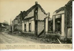 Dpt 51 Broussy Le Grand Le Village Apres Le Bombardement Du 8 Septembre 1914 1914 Neuve TBE - Altri Comuni