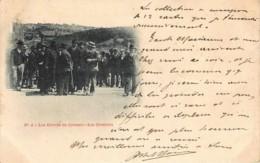 France - 71 - Précurseur - Le Creusot -N° 2 - Les  Grèves Du Creusot - Les Orateurs - Le Creusot