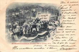France - 71 - Précurseur - Le Creusot - Manifestations Socialistes Du 14 Juillet 1899 N° 5 - Le Creusot