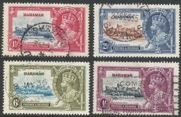 Bahamas. 1935 KGV Silver Jubilee. Used Complete Set. SG 141-144 - Bahamas (...-1973)