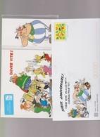 FRANCE 1 Enveloppe PAP Prêt à Poster N°YT 3046 Avec Carte Sous Blister- 1997 - Joyeux Anniversaire Asterix Obelix - Postwaardestukken