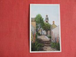 Stone Alley   Massachusetts > Nantucket Island  Detroit Publisher     Ref 3141 - Nantucket