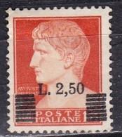 Regno D'Italia, 1945 - 2,50 Lire Imperiale, Soprastampato - Nr.523 Usato° - 1900-44 Vittorio Emanuele III