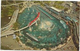 W693 Disneyland Tomorrowland - Walt Disney / Viaggiata 1964 - Disneyland