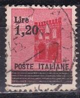 Regno D'Italia, 1945 - 1,20 Lire Su 20c Monumenti Distrutti, Soprastampato - Nr.524 Usato° - 1900-44 Vittorio Emanuele III
