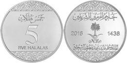 Saudi Arabia - 5 Halala 2016 UNC - Sao Tome And Principe