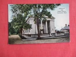 Public Library   Massachusetts > Nantucket       Ref 3141 - Nantucket
