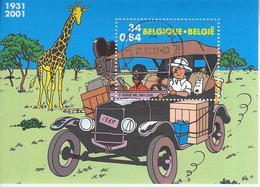 TinTin-Kuifje In Afrika - Belgium