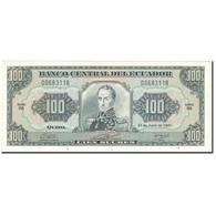 Billet, Équateur, 100 Sucres, 1991-06-21, KM:123Aa, SPL - Equateur