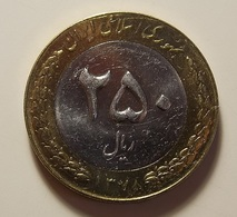Iran 250 Rials 1999 Varnished - Iran