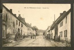 CP-LA VILLENEUVE-CREUSE - Grande Rue - Autres Communes