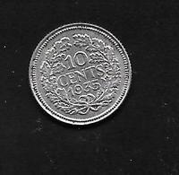 Pays Bas - 10 Cent - 1935 - Argent - [ 3] 1815-… : Royaume Des Pays-Bas