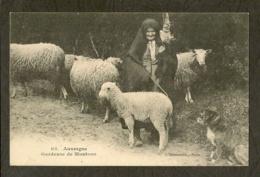 CP-AUVERGNE - Gardeuse De Moutons - Auvergne