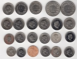 Lot De Monnaies Suisse - Svizzera
