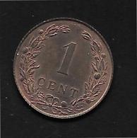 Pays Bas - 1 Cent - 1902 - [ 3] 1815-… : Royaume Des Pays-Bas