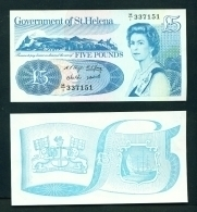 ST HELENA  -  2012  £5  UNC Banknote - Sainte-Hélène