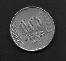 Pays Bas - 10 Cent - 1942 - 2.5 Cent