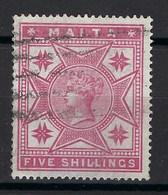 ⭐ Malte - YT N° 11 - Oblitéré - 1885 ⭐ - Malta (...-1964)