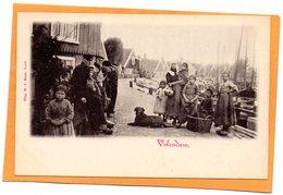 Volendam Netherlands 1900 Postcard - Volendam