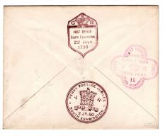 1890, Sehr  Selt. Stp. Jubilee !   , #a1863 - Briefe U. Dokumente