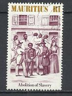 MAURITIUS 1984 - ABOLITION OF SLAVERY 150th ANNIVERSARY- POSTALLY USED OBLITERE GESTEMPELT USADO - Maurice (1968-...)