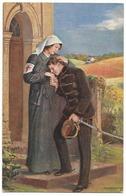 Infirmière Et Jeune Officier Austro-hongrois - Croix-Rouge