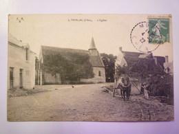 MORLAC  (Cher)  :  L'EGLISE   1922   XXX - Autres Communes