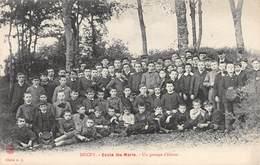 A-19-1341 : DUCEY. GROUPE D ELEVES DE L ECOLE SAINTE-MARIE. - Ducey