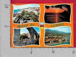 CARTOLINA VG ITALIA - Saluti Da LOANO - Panorama Vedutine - 10 X 15 - ANN 1982 - Saluti Da.../ Gruss Aus...