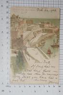 MALTA -   Old Postcard Hamburg Amerika Line - Vintage POSTCARD, 1903. - (APAT2-133) - Malta