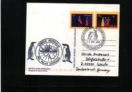 Australian Antarctic Territory 2008 Australian National Antarctic Research Expeditions Macquarie Is. Interesting Cover - Australisches Antarktis-Territorium (AAT)