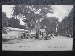 AK BATAVIA Komedie Buurt Ca.1910 Indonesia Java  //  D*36175 - Indonesien